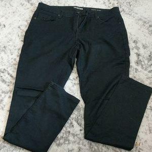 Tristan black skinny jeans